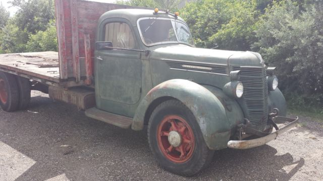 1937 International Ds35 Truck Pickup Semi Dually Rat Rod Coe Custom Flatbed 38 For Sale Photos Technical Specifications Description