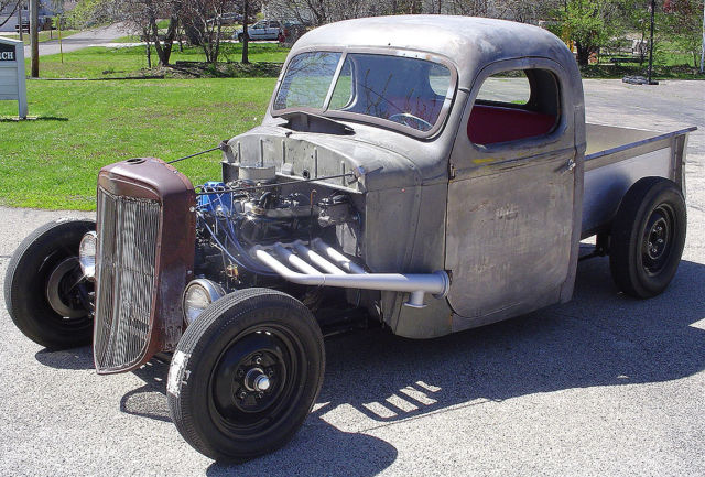 1937 International Harvester Pickup 1/2 ton