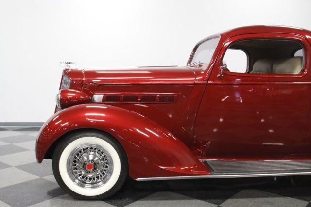 1937 Packard 115 Business Coupe Restomod Hardtop 350 V8