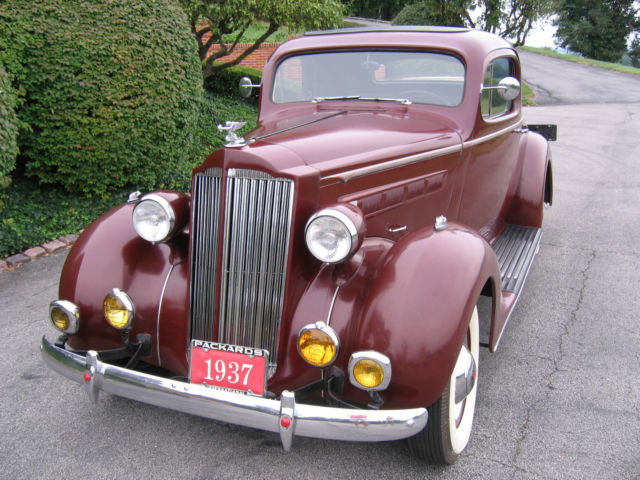 1937 Packard 115C Sport Coupe