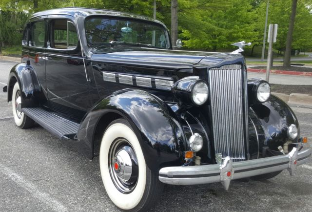 1937 Packard 120 Well-Maintained, Garage Kept, 2002 Resto