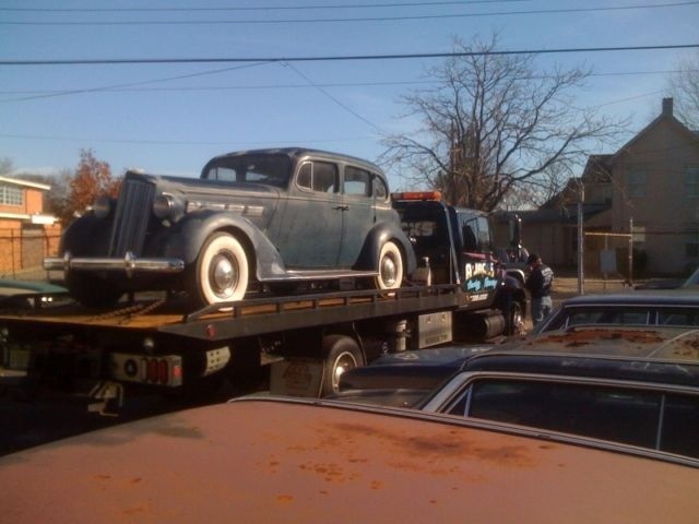 1937 Packard Model 1092 Rare Canadian 120C