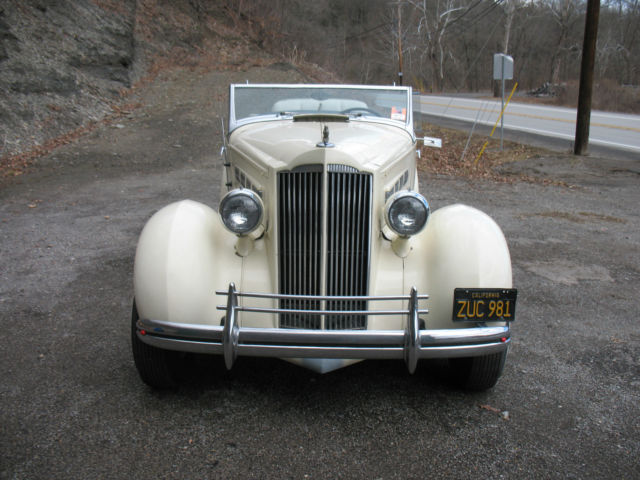 1937 packard coupe convertible for sale: photos, technical