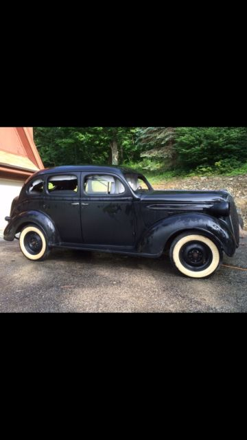 1937 Plymouth 4 door coupe