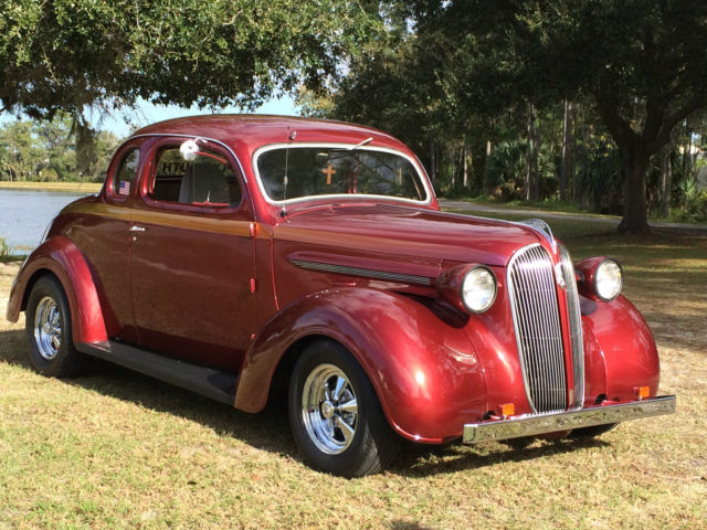 1937 Plymouth 5-Window Coupe Street Rod