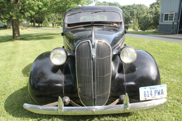 1937 Plymouth p4 coupe