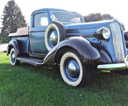 1937 Plymouth