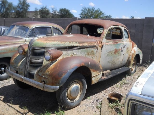 1937 Pontiac Coupe Barn Find Rat Rod Hot Street Gasser Project Car