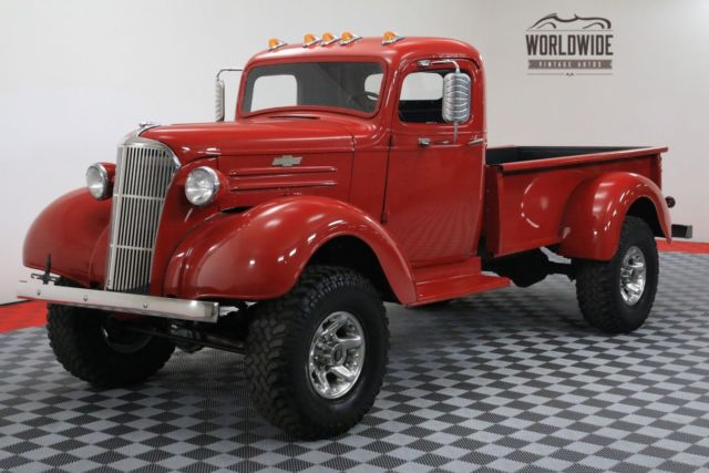 1937 Chevrolet PICKUP RESTORED CUSTOM 4X4 V8 PS PB