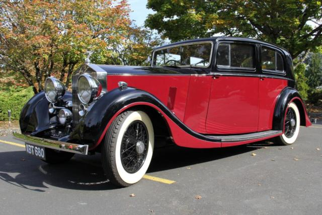 1937 Rolls-Royce 25/30 Limousine by Rippon. CONCOURS WINNER.