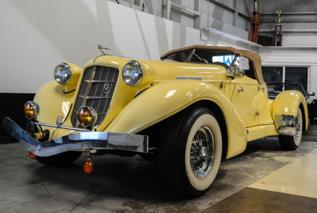 1937 Other Makes 1937 851 SECOND GENERATION AUBURN SPEEDSTER