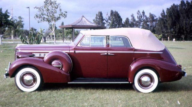 1938 Buick 40c Series Special 4 Door Sport Phaeton Convertible Sedan Very Rare