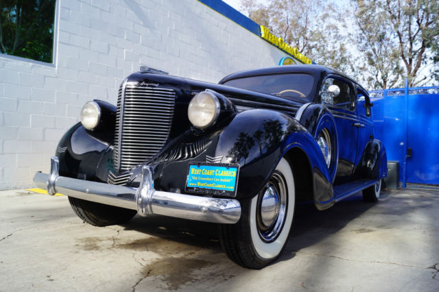 1938 Chrysler Imperial C20 8 LWB LIMOUSINE WITH DIVIDER & REAR JUMP SEATS