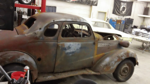 38 Chevy Coupe Project For Sale ✓ All About Chevrolet