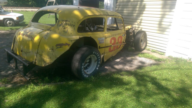 Chevy Coupe Vintage Stock Race Car Rat Hot Rod Ford Rear Tube Frame on 1957 Chevy Frame