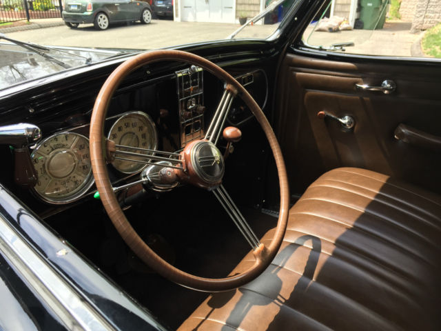 1938 Dodge D8 Rumble Seat Convertible Coupe For Sale