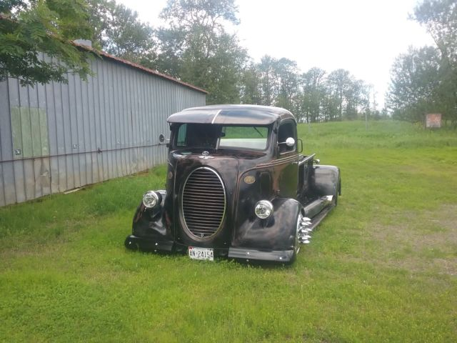 1938 Ford Coe Hot Rod Dually Truck Midengine 10 Lug Alcoa