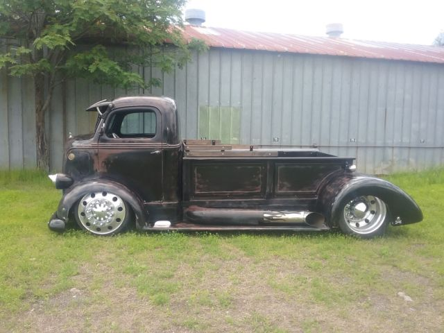 1938 ford coe hot rod dually truck midengine 10 lug alcoa for Ford truck motors for sale