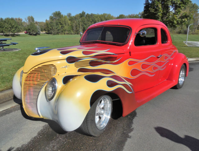 1938 Ford 5 window deluxe coupe