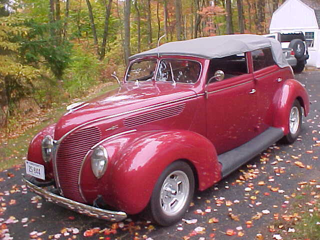 1938 ford phaeton 4 door convertible street rod hot rod no reserve for sale photos technical. Black Bedroom Furniture Sets. Home Design Ideas