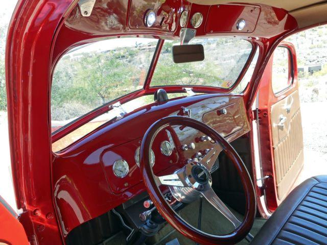 International Pickup Frame Off Restoration Ford Dodge Chevrolet on 1937 Ford Pickup Wiring
