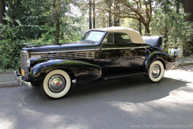1938 Cadillac Other LaSalle Convertible Coupe. 1 FAMILY OWNED. VIDEO.