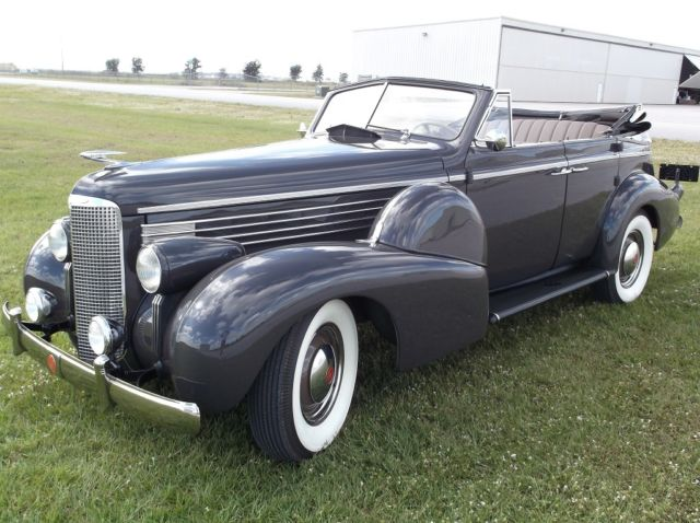 1938 LaSalle Model 5049 4 Dr Sedan Convertible Cadillac for sale