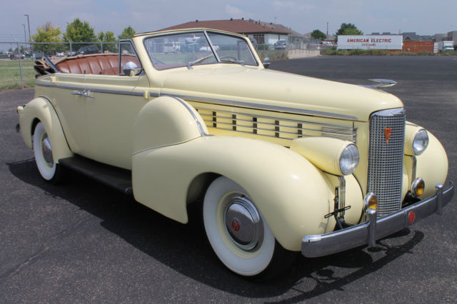1938 LaSalle Series 50 Convertible Sedan Only 265 produced for