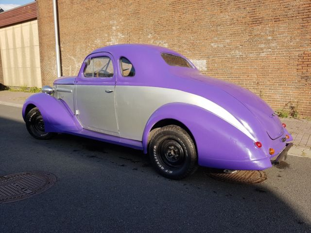 1938 Nash LaFayette Business Coupe Fastback