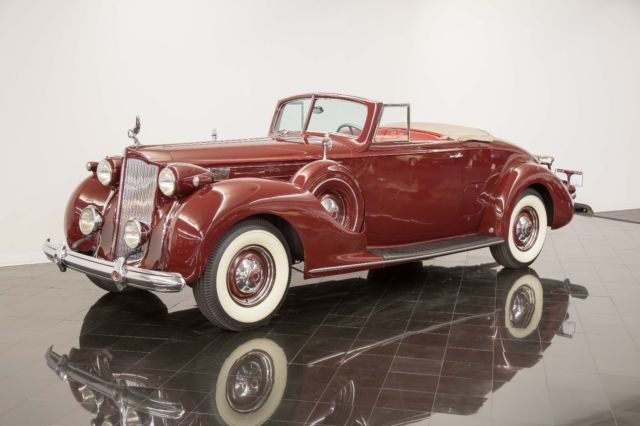 1938 Packard Model 1607 Twelve Convertible Coupe