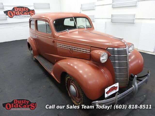 1938 Chevrolet Master HB Runs Drives Body Inter Good 206I6 3 spd manual