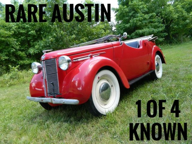 1939 Austin Austin 8 Tourer Four Convertible Austin Tourer 8