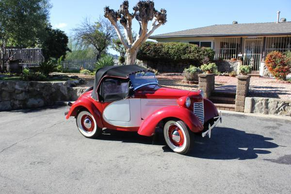 1939 Austin Bantam Roadster 2 door coupe