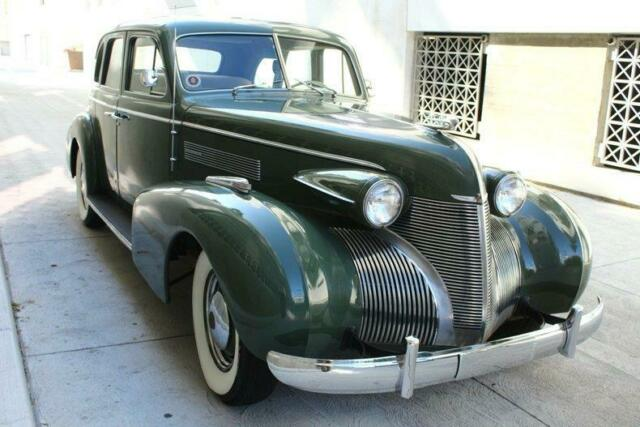 1939 Cadillac  74K Actual Miles 74530 Miles Green Sedan V8 Manual