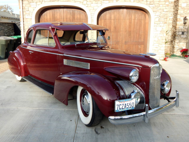 1939 Cadillac Other 2 Door 5 Window Coupe