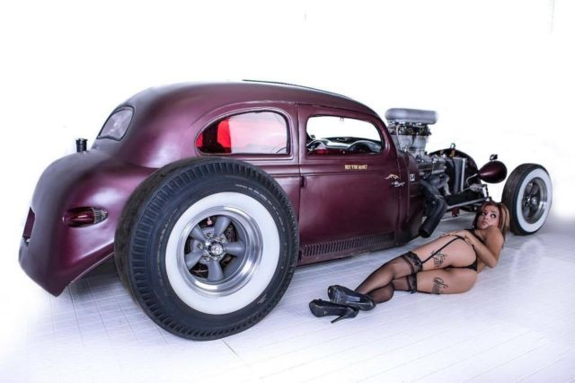 1939 Chevrolet Coupe Hot Rod Rat Rod Hotrod Ratrod Street
