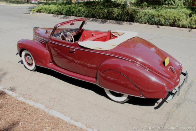 1939 Lincoln Zephyr Convertible Coupe. GORGEOUS! See VIDEO
