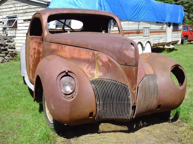 1939 Lincoln Zephyr Coupe 3w 1937 1938 Ratrod Street Rod Ford Coupe