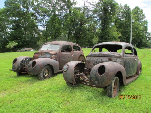1939 mercury 2 door sedans 2 for 1 deal both cars hot rat for 1939 ford 2 door sedan for sale