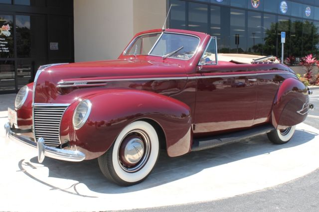 1939 Mercury Eight 99A Series Cabriolet