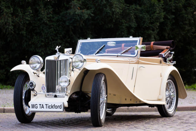 1939 MG T-Series Tickford