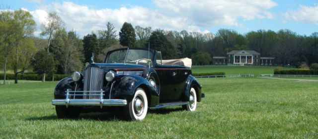 1939 Packard Model 1701 One Twenty Convertible Sedan