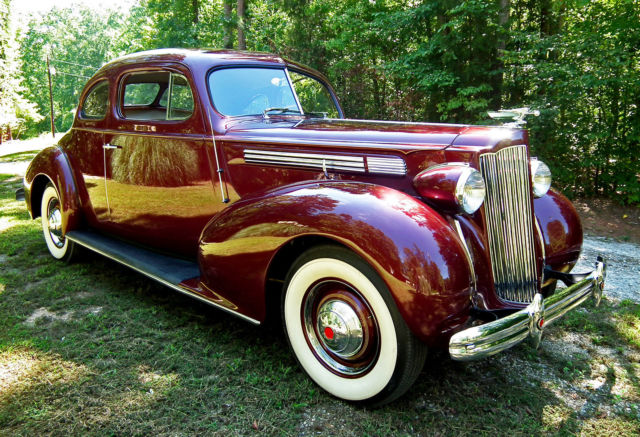1939 Packard Standard Eight Club Coupe 1701