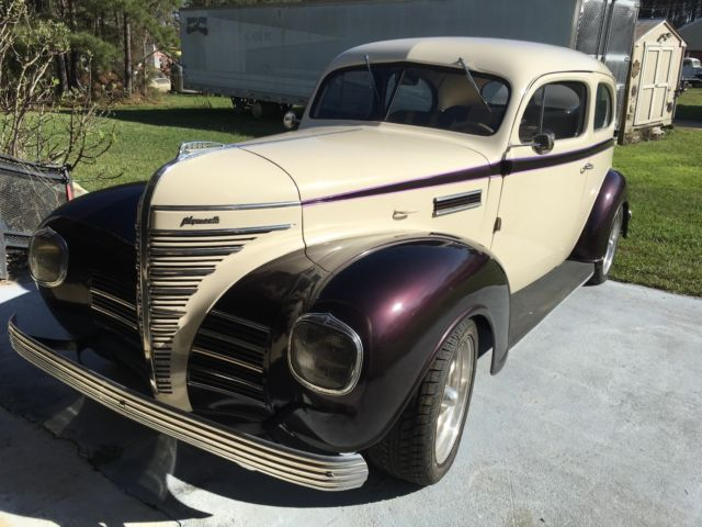 1939 Plymouth 2 door Sedan 350 4 wheel disc brakes