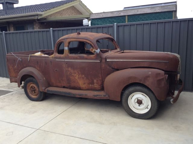 Ford Coupe Ute Hot Rod Rat Rod Project