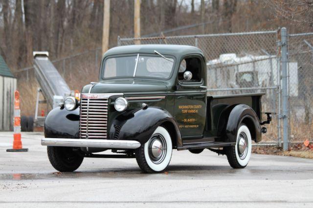 1940 40 Chevy pickup truck Concourse Nut & Bolt Restoration