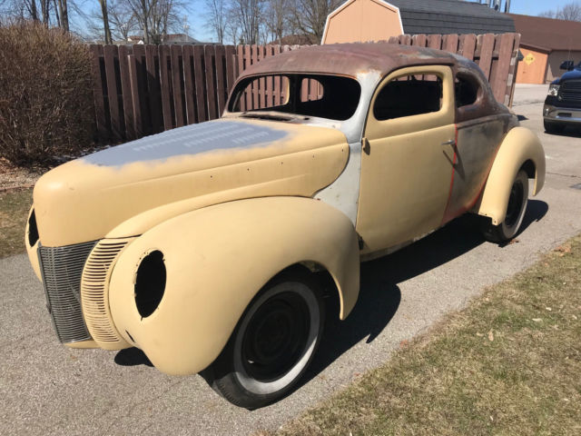 1940 40 Ford Deluxe Coupe Chopped Top Hot Rod Custom Project