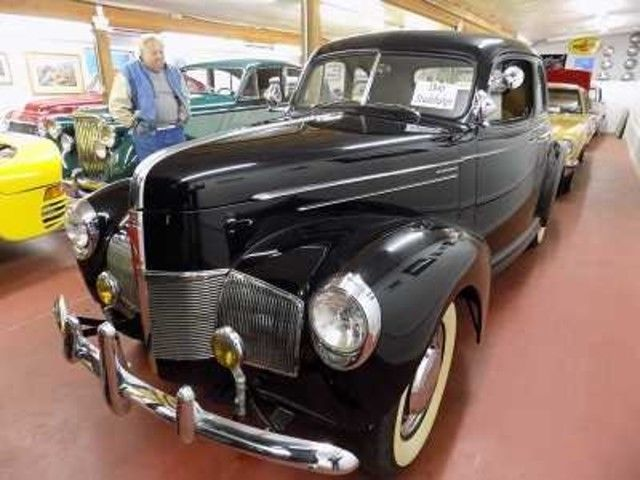 1940 Studebaker 2Dr Coupe - Utah Showroom