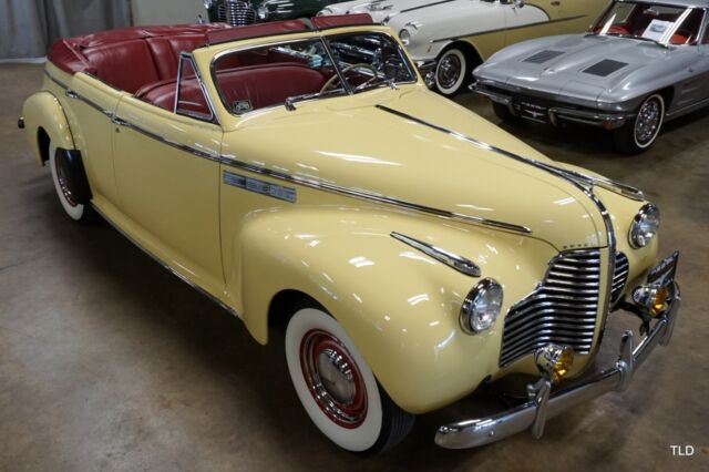 1940 Buick Special Limited Glove Box Century