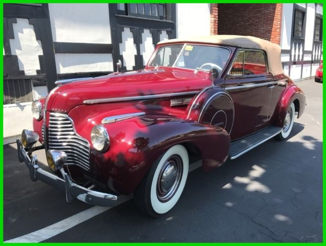 1940 Buick Convertible Convertible Restored to Original